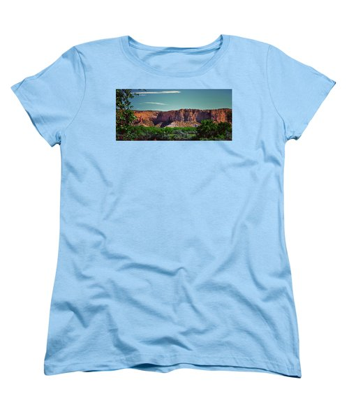 New Mexico Mountains 004 Women's T-Shirt (Standard Cut) by George Bostian
