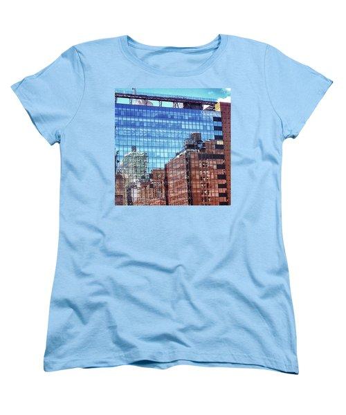 New York City Skyscraper Art 4 Women's T-Shirt (Standard Cut) by Judi Saunders