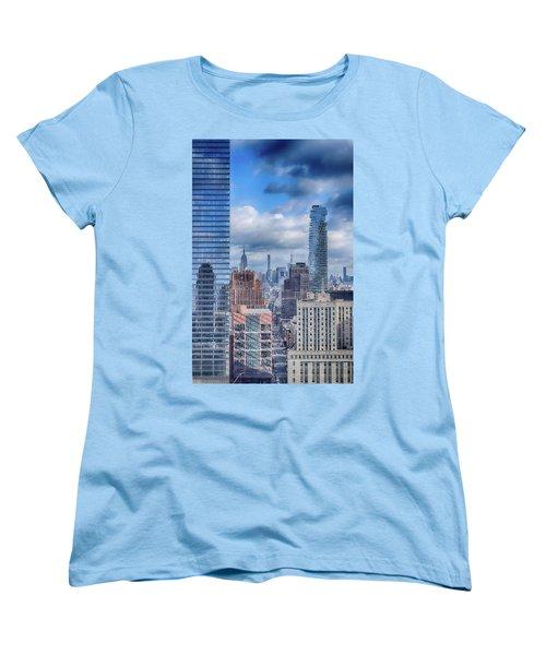New York Cityscape Women's T-Shirt (Standard Cut)
