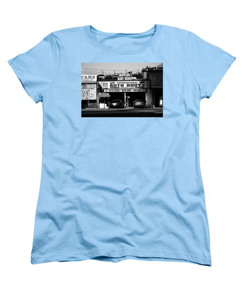 Women's T-Shirt (Standard Cut) featuring the photograph New York Street Photography 69 by Frank Romeo