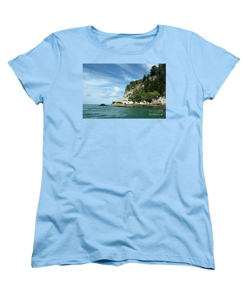 Women's T-Shirt (Standard Cut) featuring the photograph New Zealand Beauties by Yurix Sardinelly