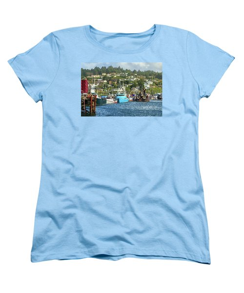 Newport Harbor Women's T-Shirt (Standard Cut) by James Eddy