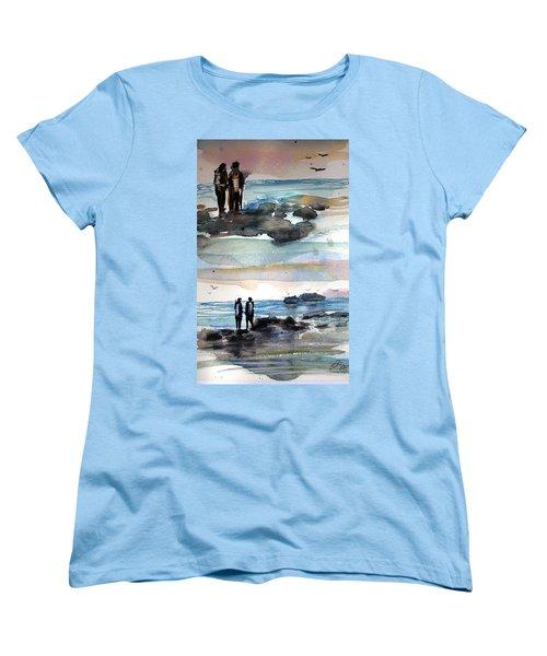 Night Dive Women's T-Shirt (Standard Cut)