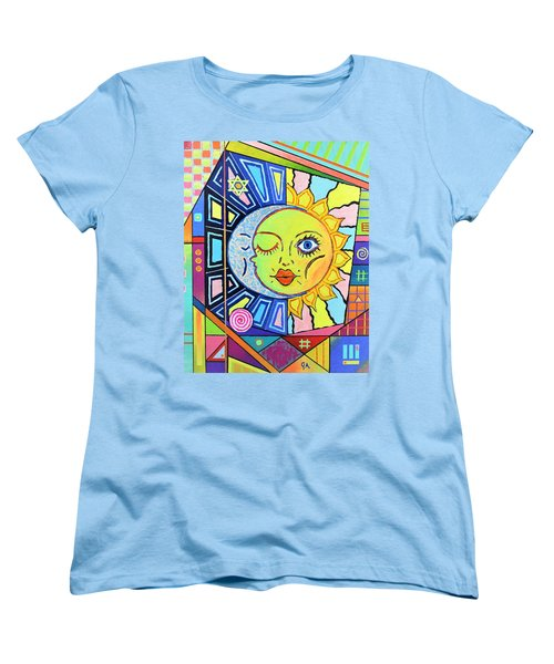 Night Kisses Daylight Women's T-Shirt (Standard Cut) by Jeremy Aiyadurai