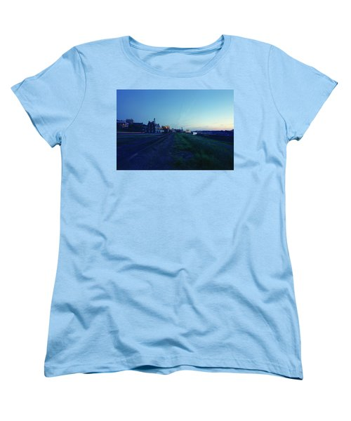 Night Moves On The Mississippi Women's T-Shirt (Standard Cut) by Jan W Faul