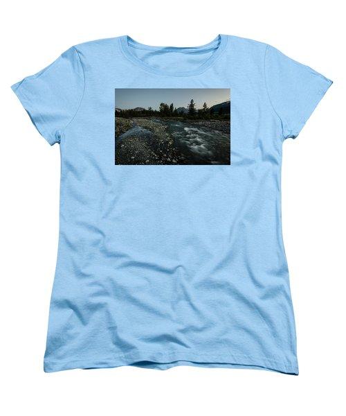 Nightfall In Montana Women's T-Shirt (Standard Cut)