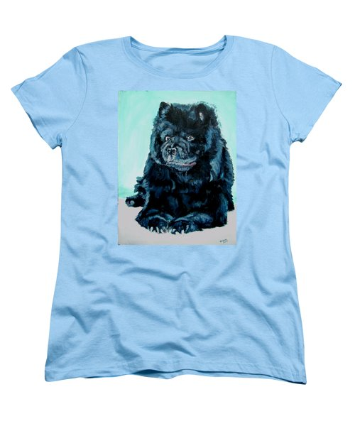Nikki The Chow Women's T-Shirt (Standard Cut) by Bryan Bustard