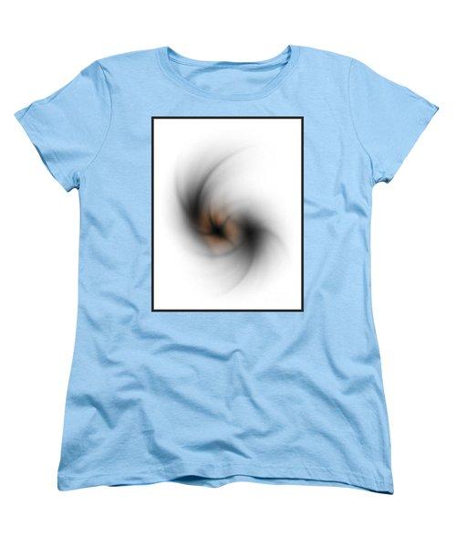 Women's T-Shirt (Standard Cut) featuring the digital art No Light by John Krakora