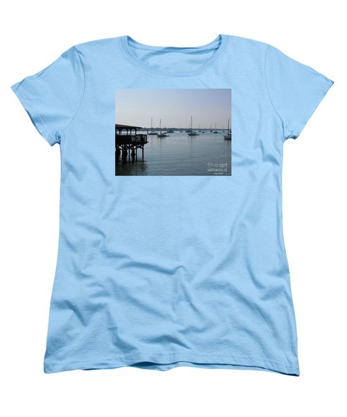 Women's T-Shirt (Standard Cut) featuring the photograph No Wind by Greg Patzer