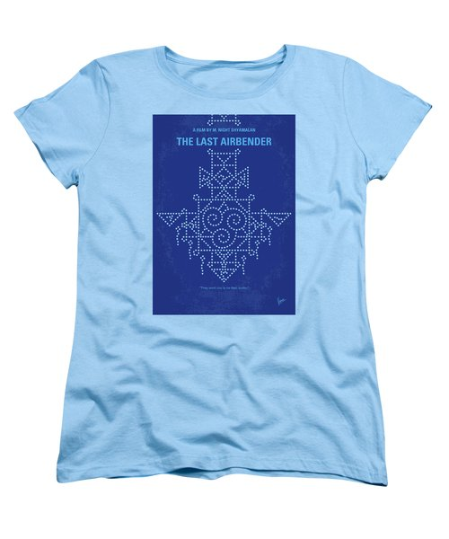Women's T-Shirt (Standard Cut) featuring the digital art No764 My The Last Airbender Minimal Movie Poster by Chungkong Art