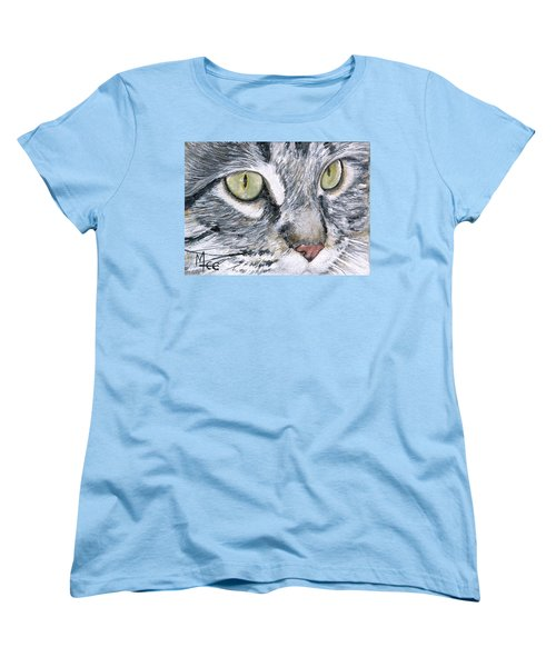 Women's T-Shirt (Standard Cut) featuring the painting Noel by Mary-Lee Sanders