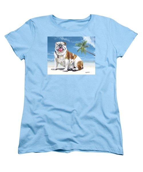 Norma Jean The Key West Puppy Women's T-Shirt (Standard Cut) by Phyllis Beiser