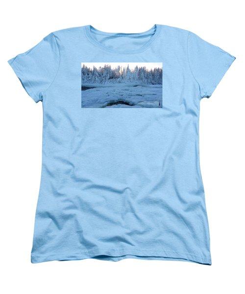 North Of Sweden Women's T-Shirt (Standard Cut) by Tamara Sushko
