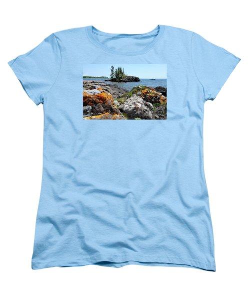 North Shore Beauty Women's T-Shirt (Standard Cut) by Sandra Updyke