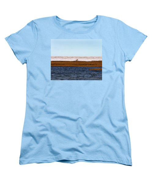 North Slope Women's T-Shirt (Standard Cut) by Anthony Jones