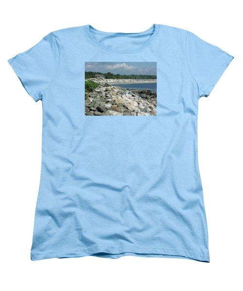 Northeast Us, Atlantic Coast, Rye Nh Women's T-Shirt (Standard Cut) by Betty Denise