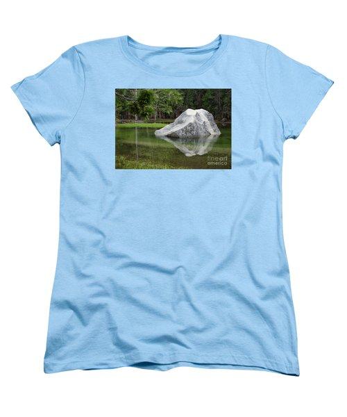 Not An Iceberg Women's T-Shirt (Standard Cut) by Debby Pueschel