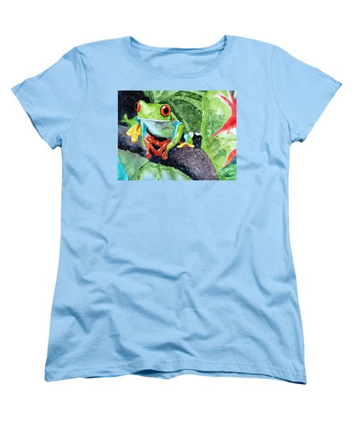 Not Kermit Women's T-Shirt (Standard Cut) by Tom Riggs