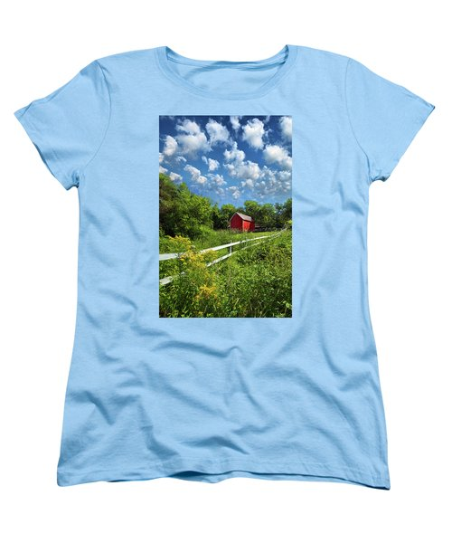 Noticing The Days Hurrying By Women's T-Shirt (Standard Cut) by Phil Koch