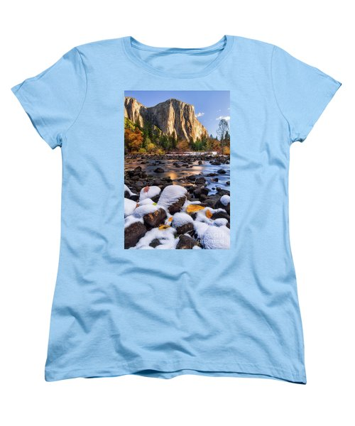November Morning Women's T-Shirt (Standard Cut) by Anthony Michael Bonafede