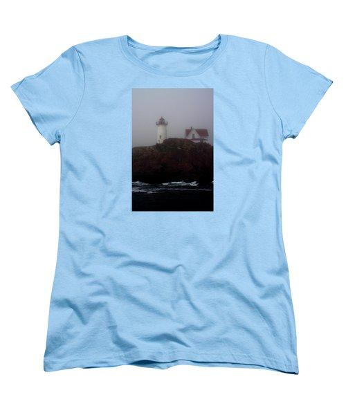 Fog Lifting Women's T-Shirt (Standard Cut) by Richard Ortolano