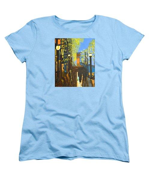 Nuit De Pluie Women's T-Shirt (Standard Cut) by Donna Blossom