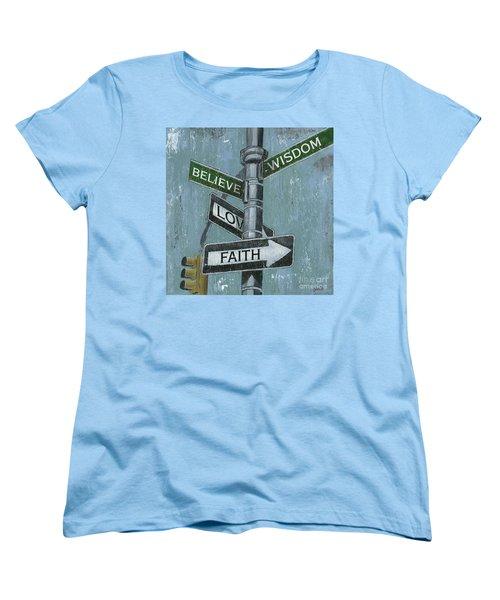 Nyc Inspiration 2 Women's T-Shirt (Standard Cut) by Debbie DeWitt