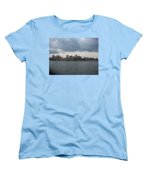 Nyc4 Women's T-Shirt (Standard Cut) by Donna Andrews