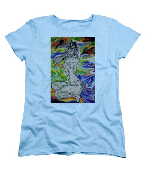 Nymph In Paradise Women's T-Shirt (Standard Cut) by Robert SORENSEN