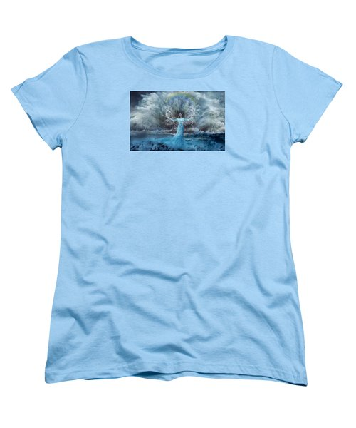 Nymph Of  The Water Women's T-Shirt (Standard Cut) by Lilia D