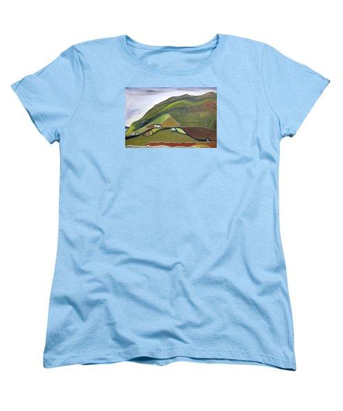 O Mountains That You Skip Women's T-Shirt (Standard Cut)