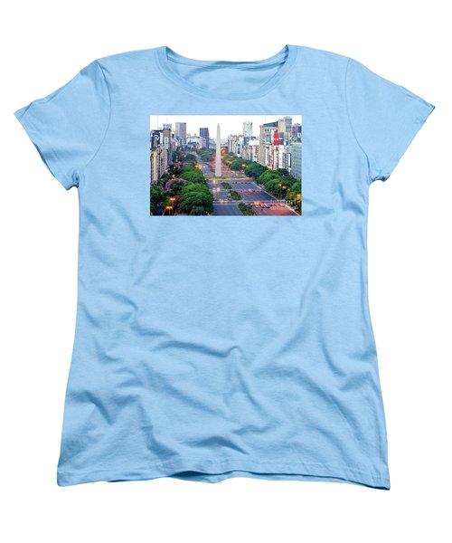 Obelisk 04 Women's T-Shirt (Standard Cut) by Bernardo Galmarini
