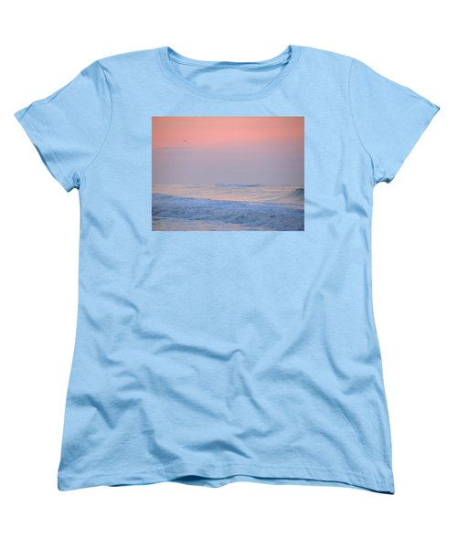 Ocean Peace Women's T-Shirt (Standard Cut) by  Newwwman