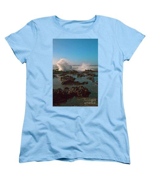 Ocean Spray Women's T-Shirt (Standard Cut) by Billie-Jo Miller