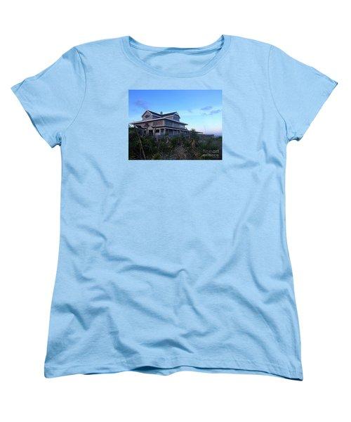Women's T-Shirt (Standard Cut) featuring the photograph Oceanic - Wrightsville Beach by Shelia Kempf