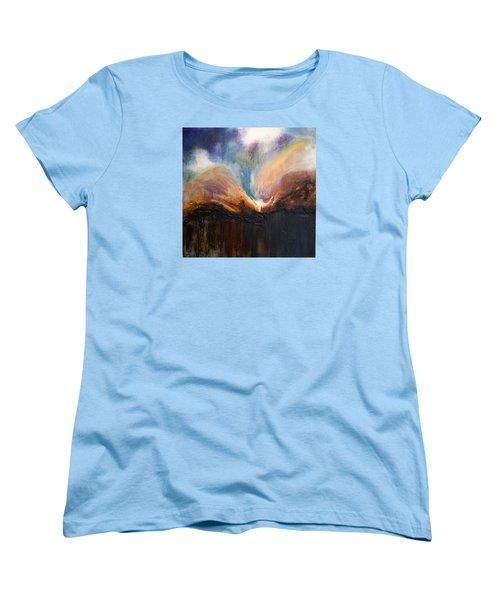 Oceans Apart Women's T-Shirt (Standard Cut) by Theresa Marie Johnson
