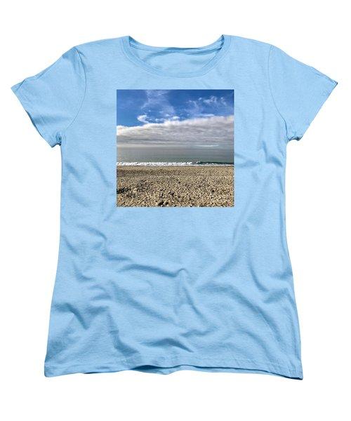 Ocean's Edge Women's T-Shirt (Standard Cut) by Kim Nelson