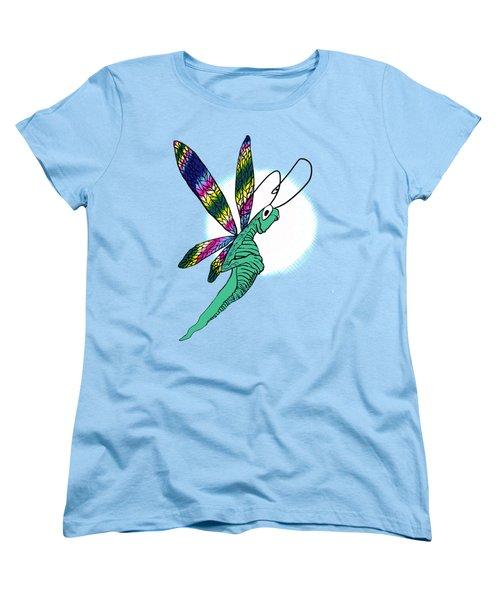 Odd Dragonfly Women's T-Shirt (Standard Cut) by Adria Trail