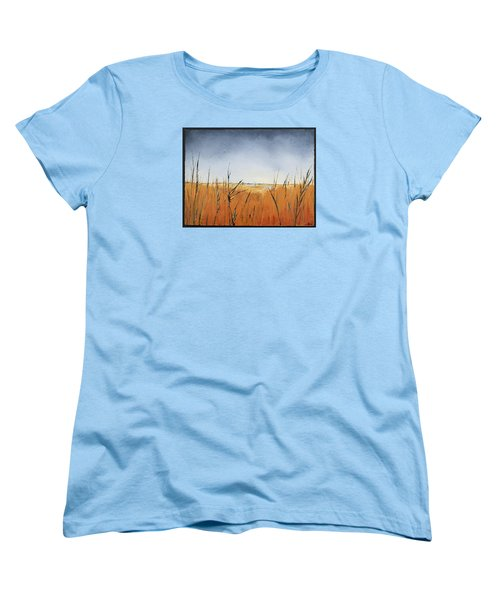 Of Grass And Seed Women's T-Shirt (Standard Cut) by Carolyn Doe