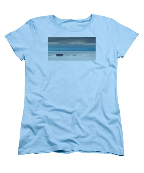 Women's T-Shirt (Standard Cut) featuring the photograph Off The Iceland Coast by Joe Bonita