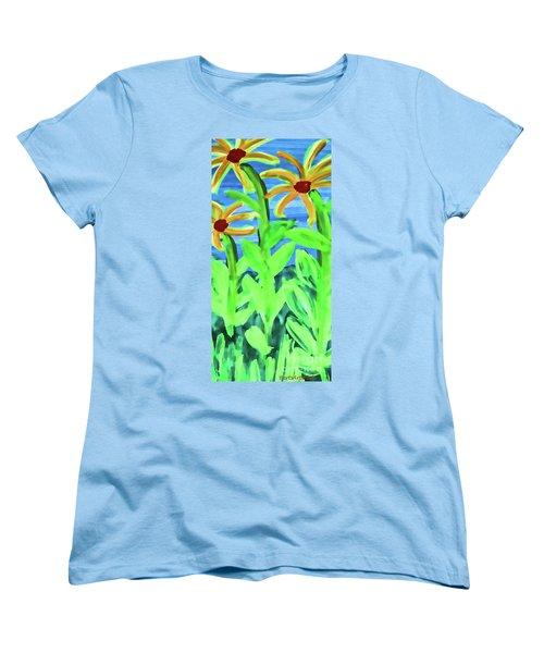 Oh Glorious Day Women's T-Shirt (Standard Cut) by Roberta Byram