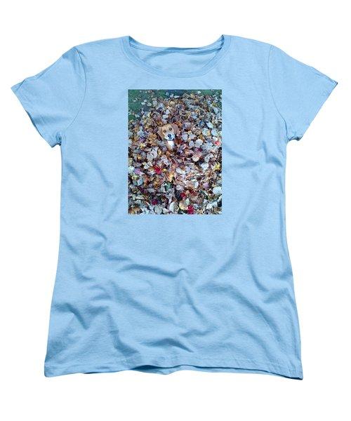 Oh How I Just Love Fall Women's T-Shirt (Standard Cut) by Annlynn Ward