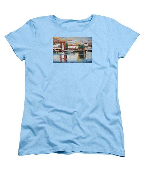 Oil Msc 019 Women's T-Shirt (Standard Cut) by Mario Sergio Calzi