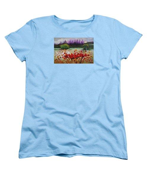 Oil Msc 031 Women's T-Shirt (Standard Cut) by Mario Sergio Calzi