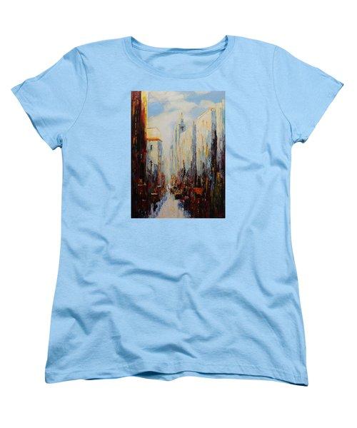 Oil Msc 059 Women's T-Shirt (Standard Cut) by Mario Sergio Calzi