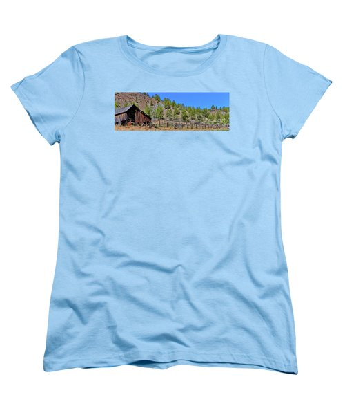 Ok Corral Women's T-Shirt (Standard Cut) by Ansel Price