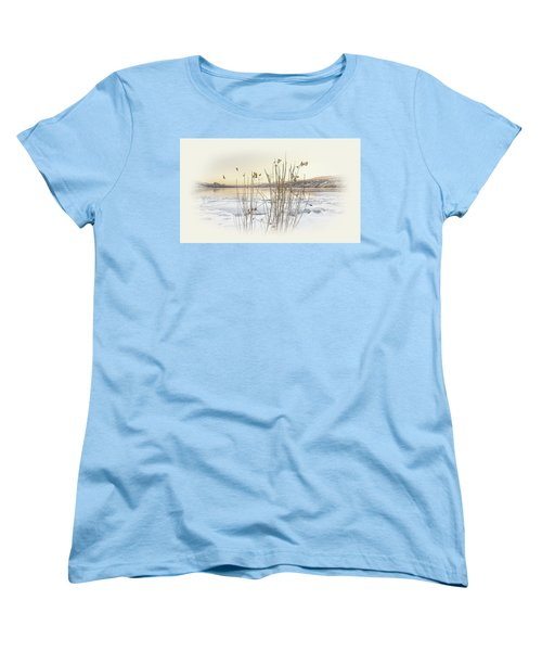 Women's T-Shirt (Standard Cut) featuring the photograph Okanagan Glod by John Poon