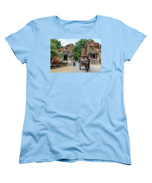 Old Bagan Women's T-Shirt (Standard Cut) by Werner Padarin