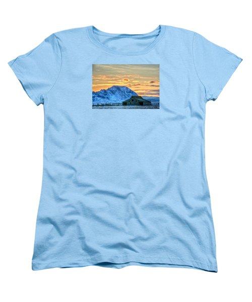 Old Barn Women's T-Shirt (Standard Cut) by Fiskr Larsen