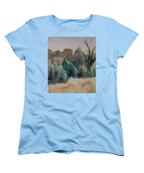 Old Growth Forest Women's T-Shirt (Standard Cut) by Patsy Sharpe